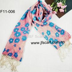 供应 羊毛印花围巾