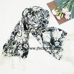 供应秋季 防UV 印花围巾