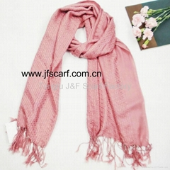 2011 Hot Sale Pink Fashion Scarf