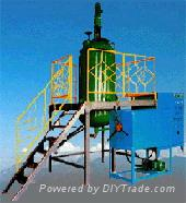 HYF light oil separating and purifying device