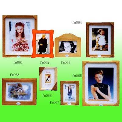 wooden frame/puzzle/letter 1