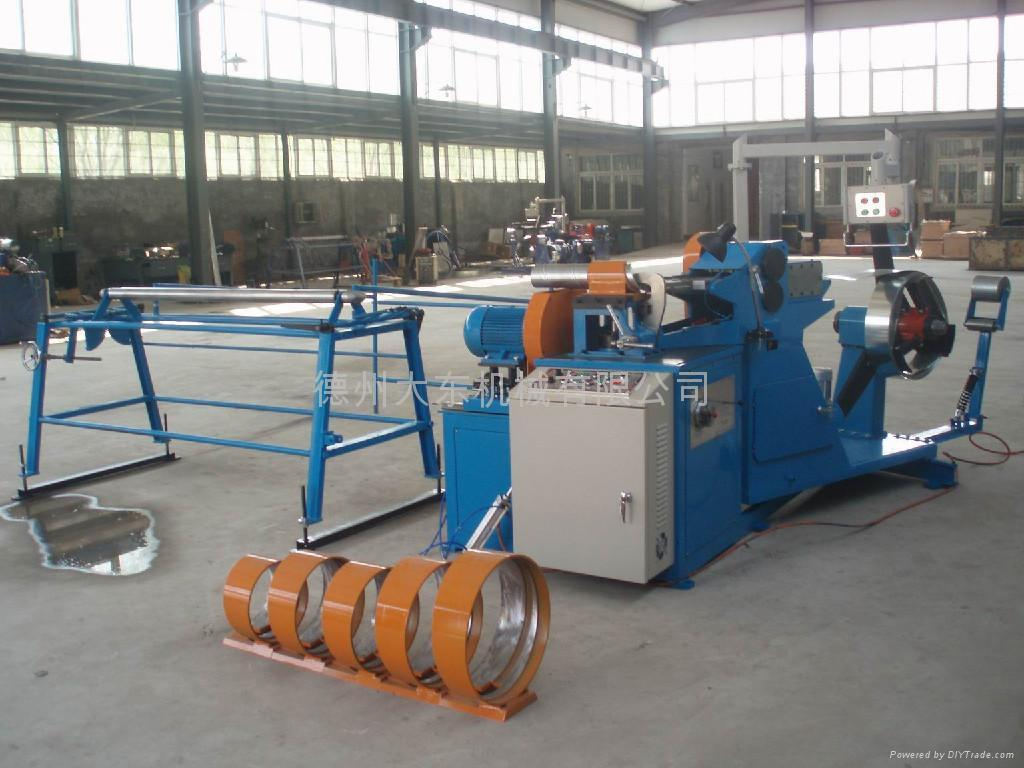 Spiral duct machine ddl dadong china