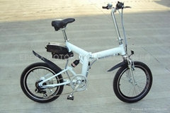 CE Electric folding bicycle/electric folding bike