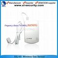 Wireless gas alarm