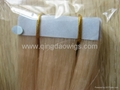 Tapes hair extenstion