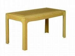 Long tea-table