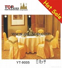 酒店賓館餐廳宴會廳傢具之桌布椅套系列