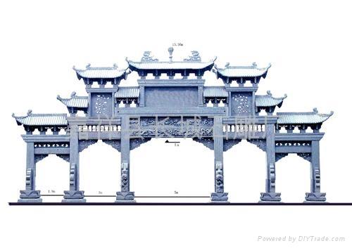 石雕牌坊的建造意义-嘉祥县长城石雕厂