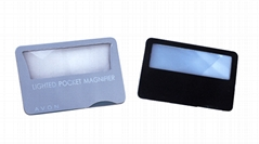 name card magnifier