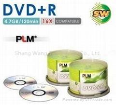 Blank DVD+R dis