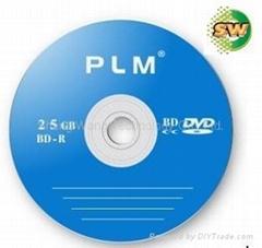 Blank BD-R disc