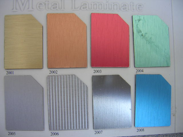 brushed aluminium laminate 3
