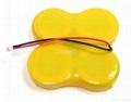 Lithium power pack CR2477-4ML