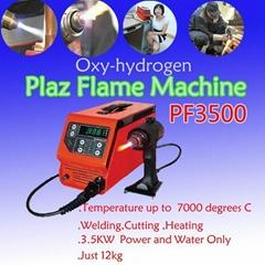 oxyhydrogen plasma flame machine