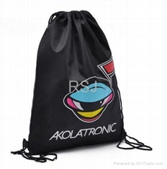 Promotional drawstring backpack