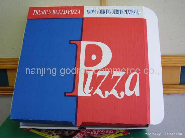 Pizza Boxes. Food pizza boxes of kraft