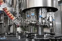 ROPP capping machine for glass bottle/ Aluminium ropp cap