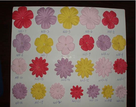 各位大大知道这种纸花是用什么模具加工出来的吗