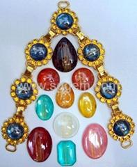貓眼石,,激光珠寶,鐳射珠寶,珠光寶石,樹脂飾品.鞋材配件鞋