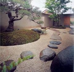 日式庭院景觀