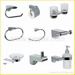 Bathroom accessories zinc/brass
