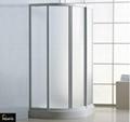 Tempered glass shower room shower enclosure