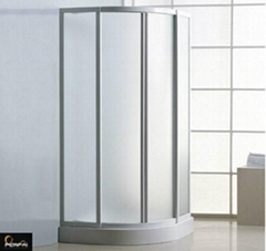 Tempered glass shower room shower enclosure