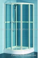 Tempered Glass with White profiles