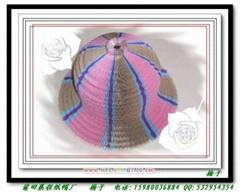 纸帽子花瓶帽工艺帽旅游帽椰子帽