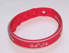 负离子矽胶手环(手链)