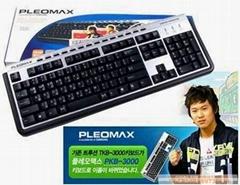 跑跑卡丁车专用键盘三星PKB3000(绝对行货)