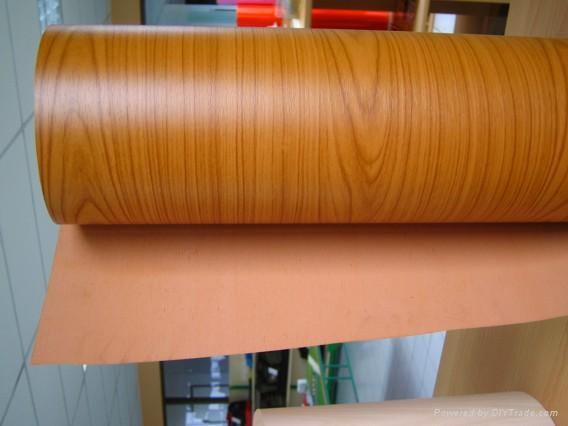 Wood Grain Vinyl Film Furniture Pvc China Manufacturer