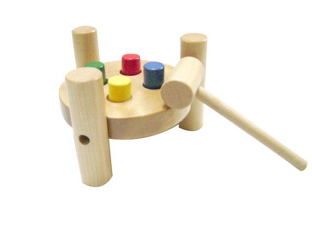 wooden punching peg 1