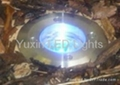 3W RGB remote control IP65 led inground