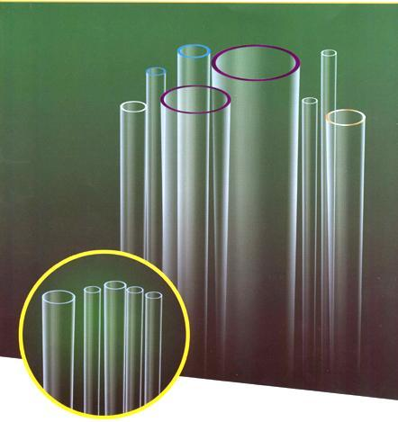 UV-stop Quartz Glass Tube 1