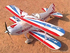 RC - Airplanes - Sapac : Pitts S-2A Scall Electric R/C Airplane