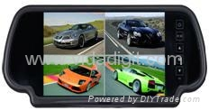 7inch RearView Quad Monitor System for