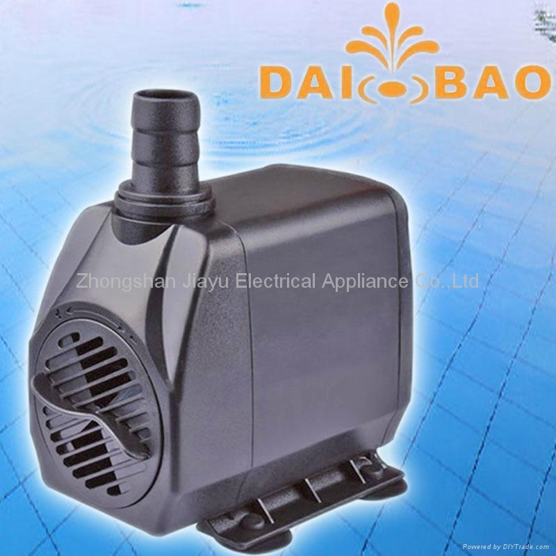 Pond Pump, Aquarium Pump,Craft Pump with LED Lighting DB-4000  3