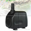 Pond Pump, Aquarium Pump,Craft Pump with LED Lighting DB-4000  5