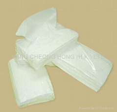 环保透明袋装纸巾