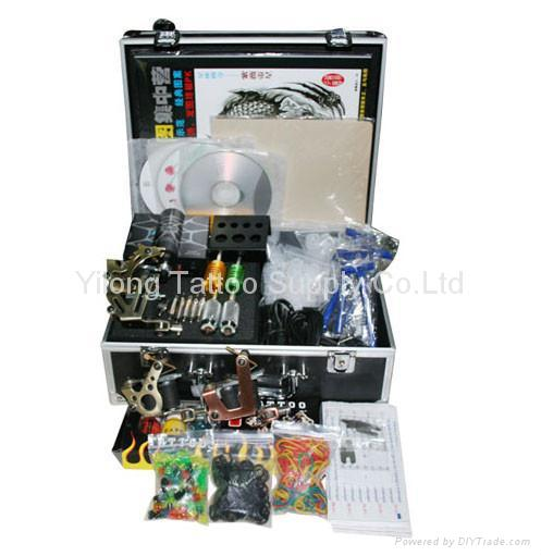 8 Color Primary Airbrush Tattoo Ink Set, 1oz., Kustom Body Art Temporary