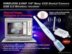 2.0 SONY CCD USB Wireless receiver Dental Intraoral camera