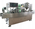 Automatic Cup or Plastic box Filling& Sealing Machine