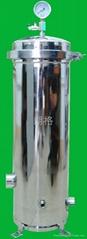 饮料油脂电子油漆化工汽车电泳线路板废污水不锈钢滤芯过滤器(机