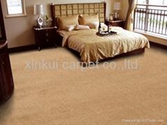 丙纶簇绒满铺地毯