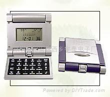 雙翻蓋萬年曆計算器