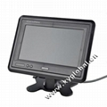 7 inch on dash board car monitor for rear camera