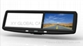 4.3inch rear view mirror GPS navigation(with DVR)(XY-9815)