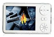 mp4 player, 2.5inches clear 262k colorful TFT screen