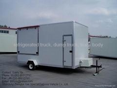 box trailer, cargo trailer,trailer